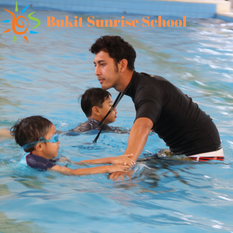 Nurturing children's life skill through swimming