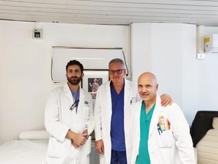 Ospedale Lamezia: nuova tecnica mini-invasiva per il trattamento delle fratture