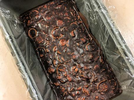 Chocolate Peanut-Butter Freezer Fudge