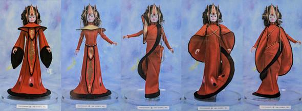 Star Wars Queen Amidala Transforming fas