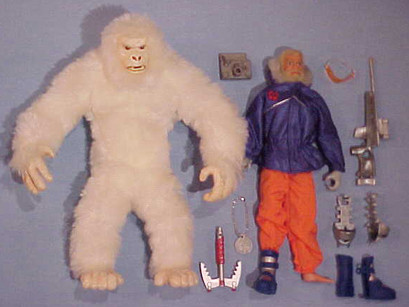 Search for the Yeti -first plush model w