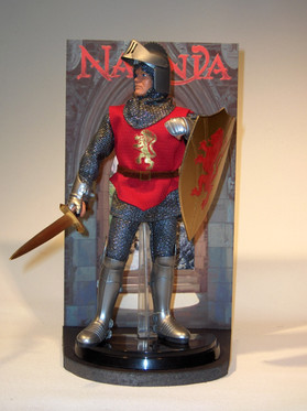 Chronicles of Narnia King Peter action figure - PlayAlong Toys