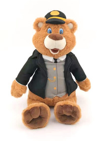 Dressable Plush Bear