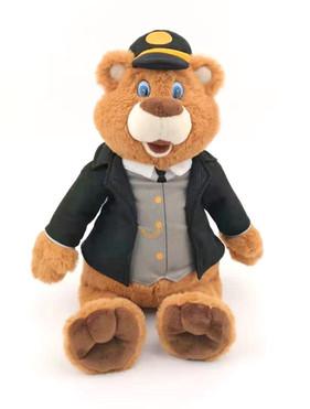 Dressable Plush Bear