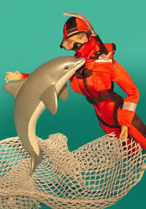 GI Jane Ocean Rescue concept model - Hasbro Toy Group
