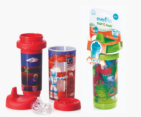 Sip & Seek Insulated Cups – Evenflo Feeding