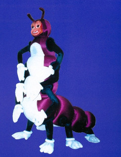 Caterpillar – Xerox trade show walk about costume