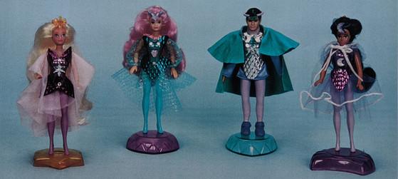 Princess Gwenevere/Enchanted Camelot original test models