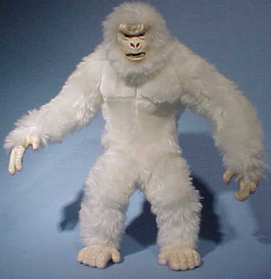 Search for the Yeti -first plush model.j