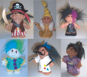 Trolls small dolls Concept models – PlayAlong Toys