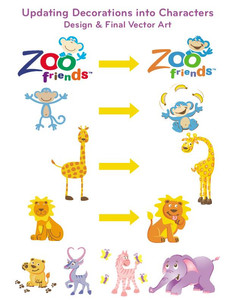 Zoo Friends characters