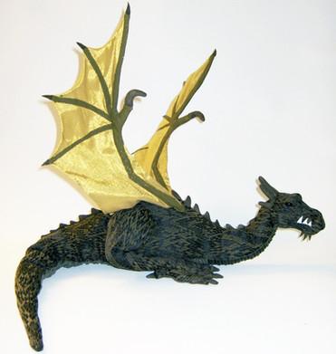 Dragonology Wyvern Plush - Sababa Toys