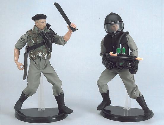 GI Joe Double Duty Jungle Shield concept models - Hasbro Toy Group
