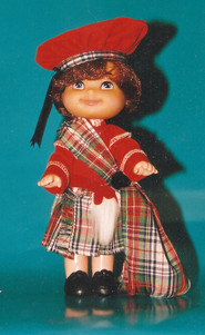 Disney It's a Small World Scotland year two concept model – Mattel Toys