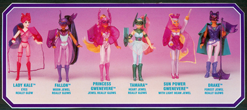 Princess Gwenevere and the Jewel Riders Fashion/action figures