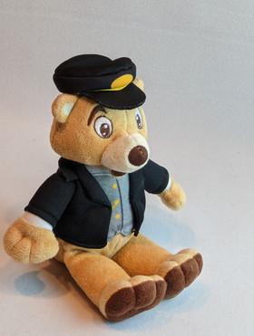 Stras Bear Beanie Plush