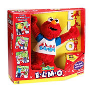 Fisher Price E.L.M.O. Elmo in package.jp