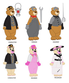 Bears in Costumes