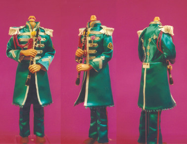 Beatles Sgt Pepper collector doll concept model
