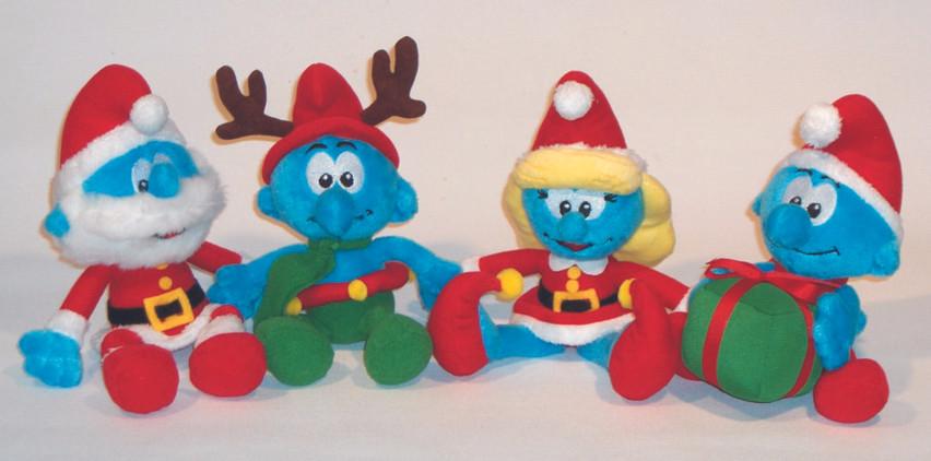 Smurf Christmas Beanie assortment - PlayAlong Toys