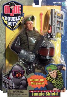 GI Joe Double Duty Jungle Shield in package- Hasbro Toy Group