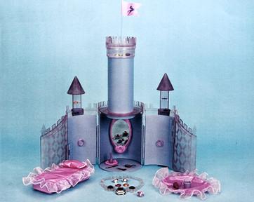 Princess Gwenevere/Enchanted Camelot original castle test model