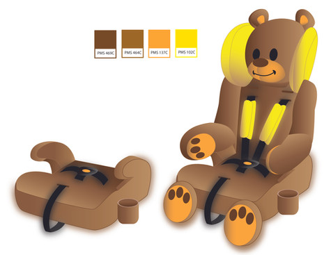 Guardimals Child Car Seats 2D designs and production – Sentry