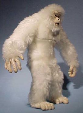 GI Joe posable Yeti plush - Hasbro Toy Group