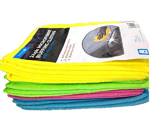 Microfiber Cloths - 24 per pack