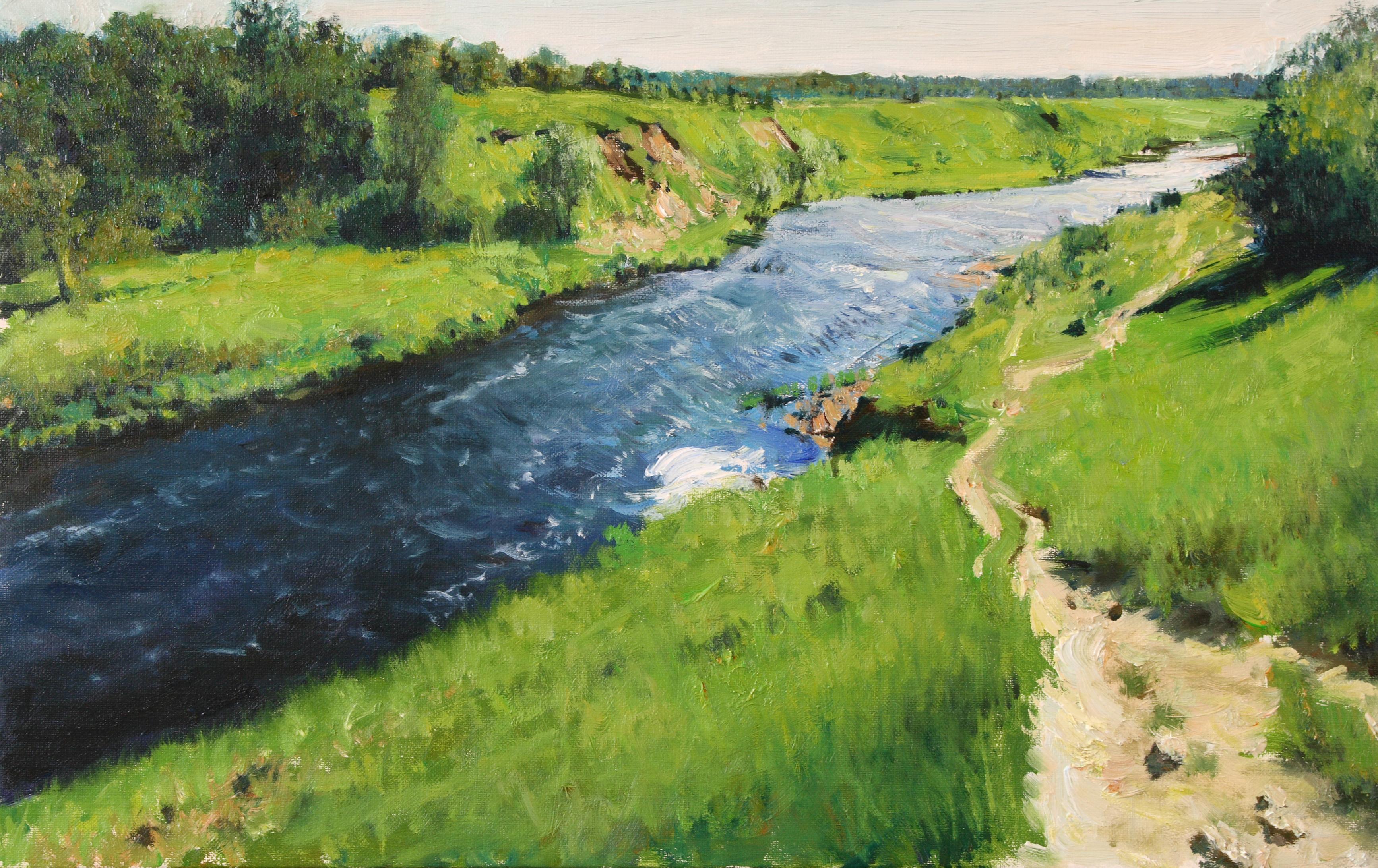 햇살좋은날 53x33.4  Oil on canvas 2011