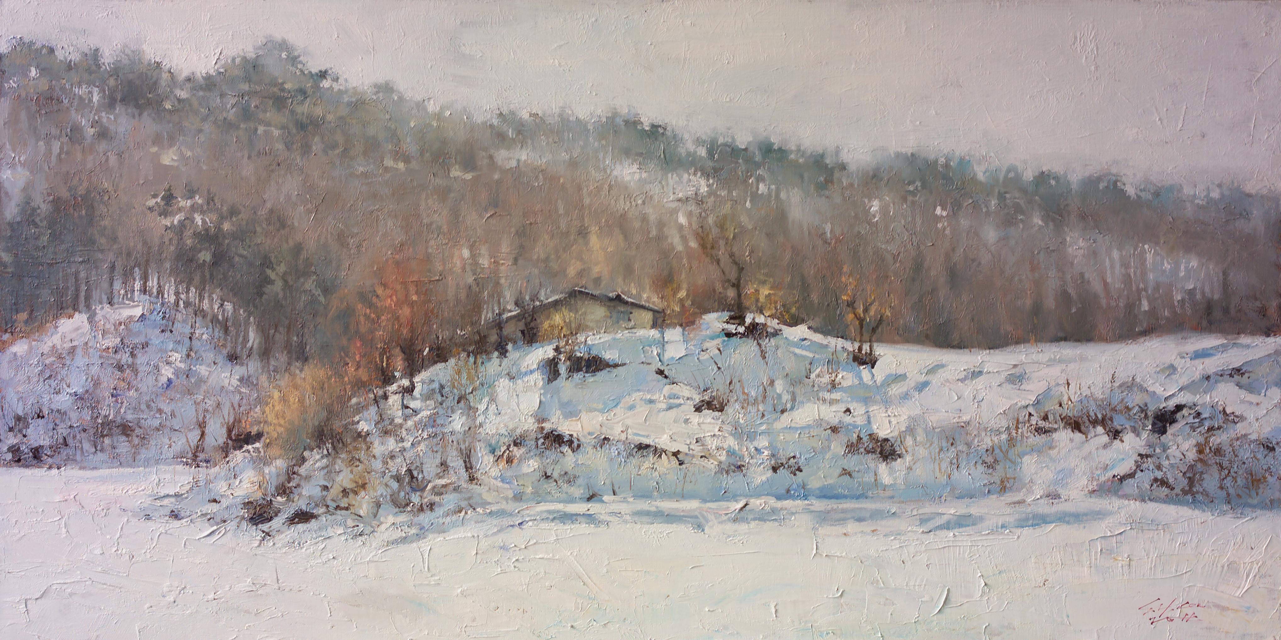 겨울빛120x60 Oil on canvas 2012