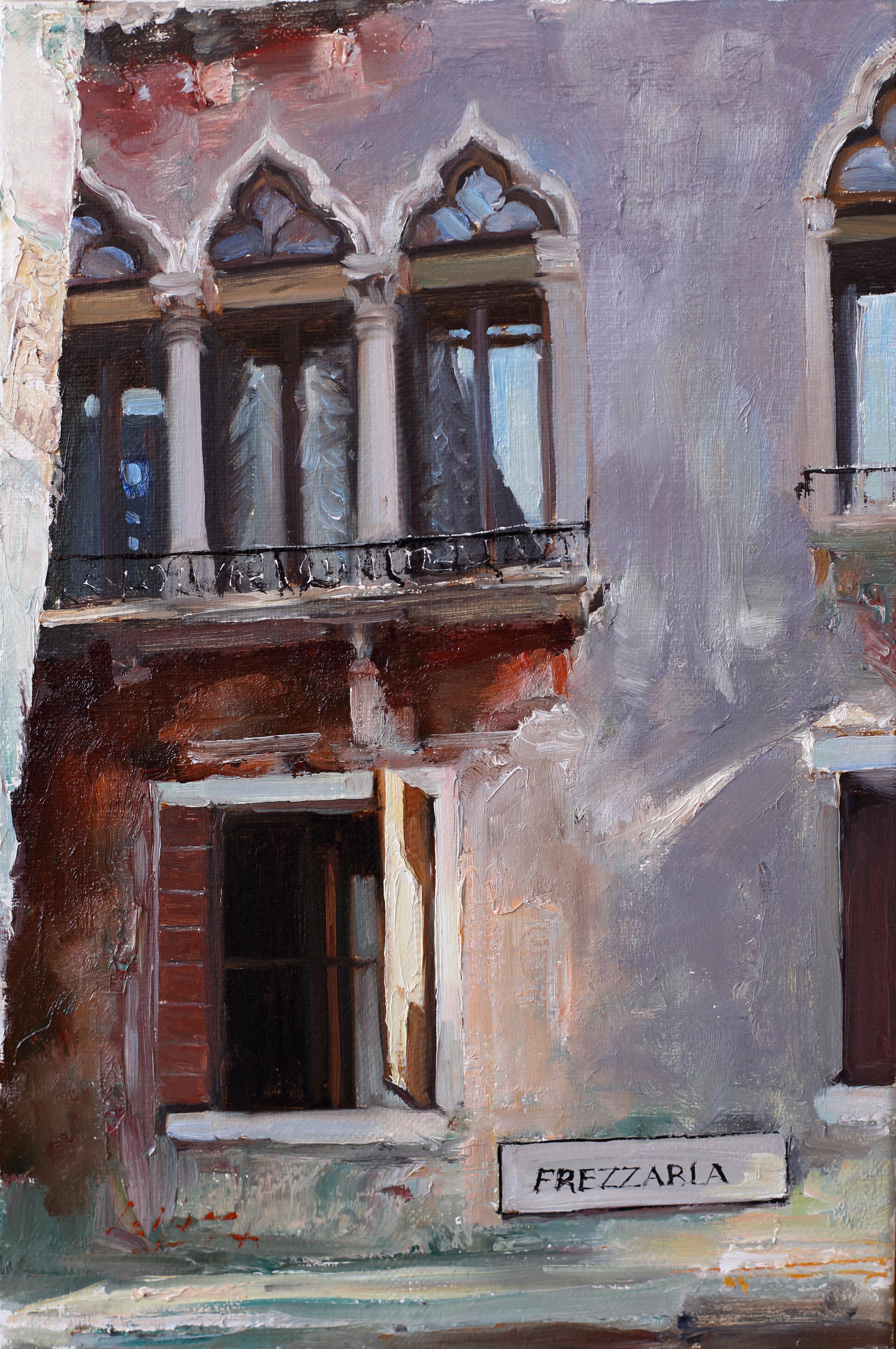 FREZZARIA 34.8x23 Oil on canvas 2014