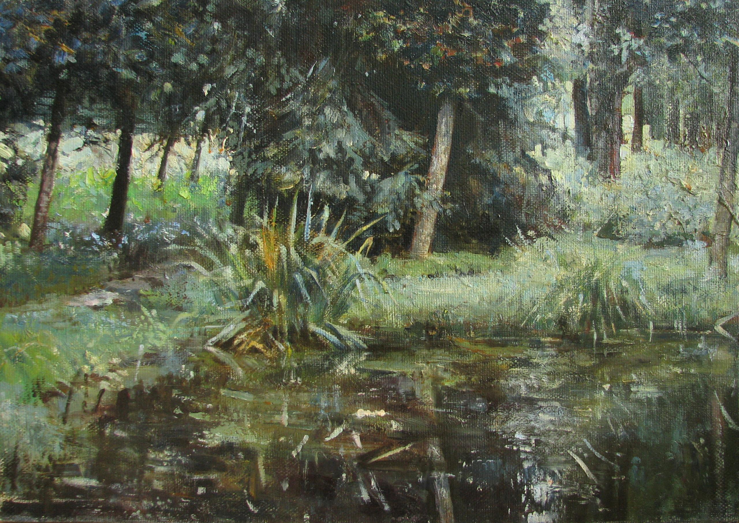 고요함 44x62  Oil on canvas 2004