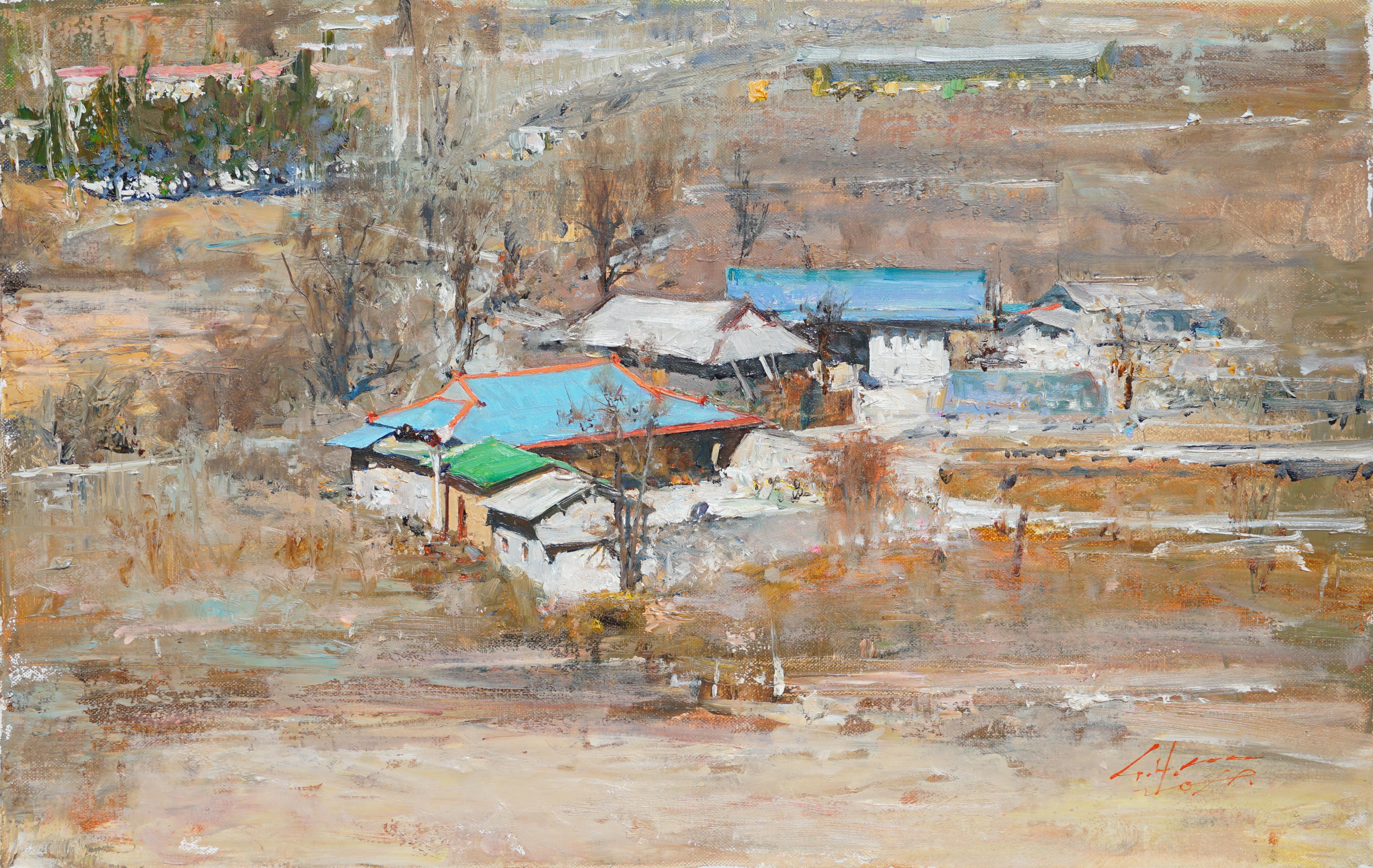 시골인상 33.4x21.2 Oil on canvas 2019