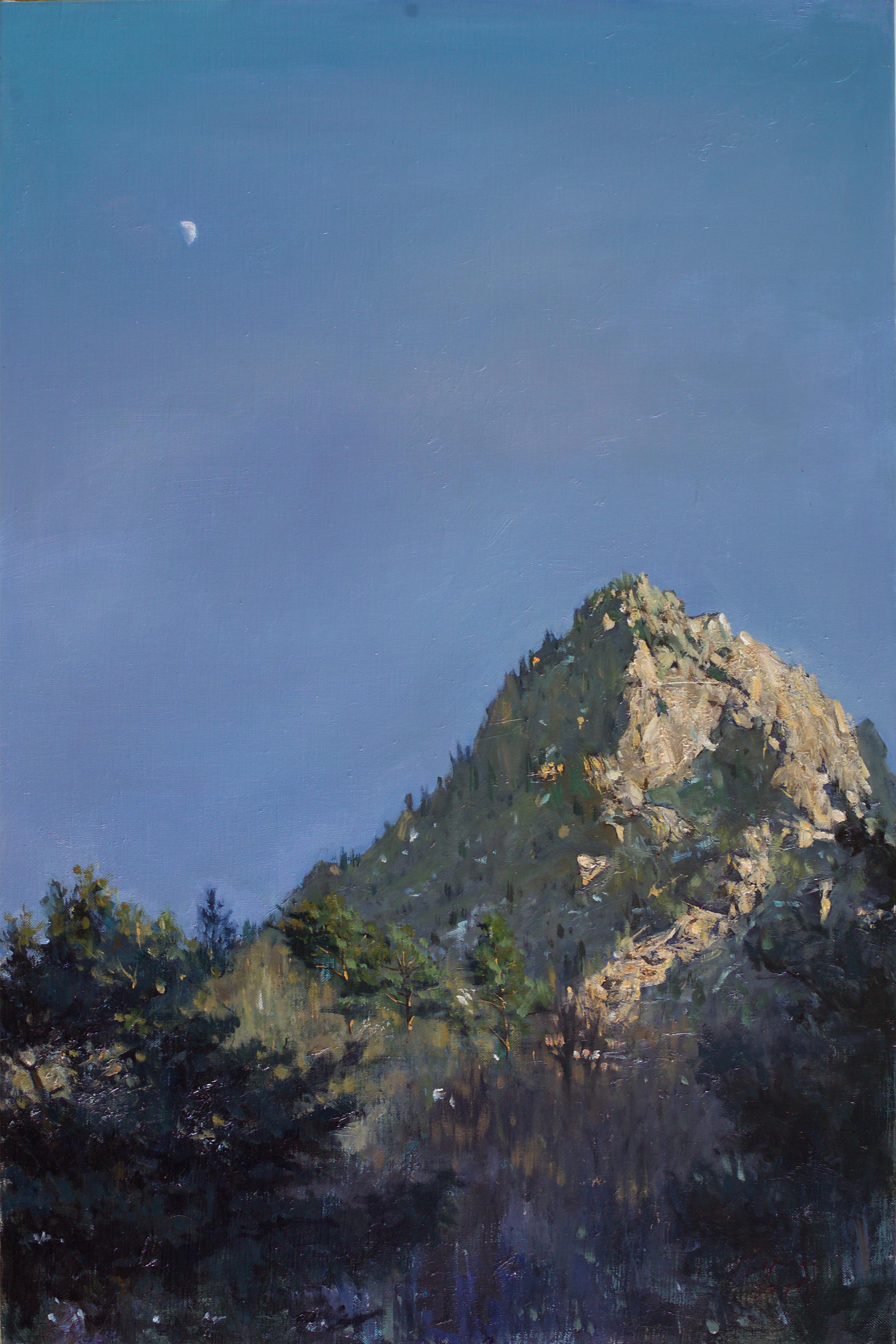 달 90.9x60.6 Oil on canvas 2012