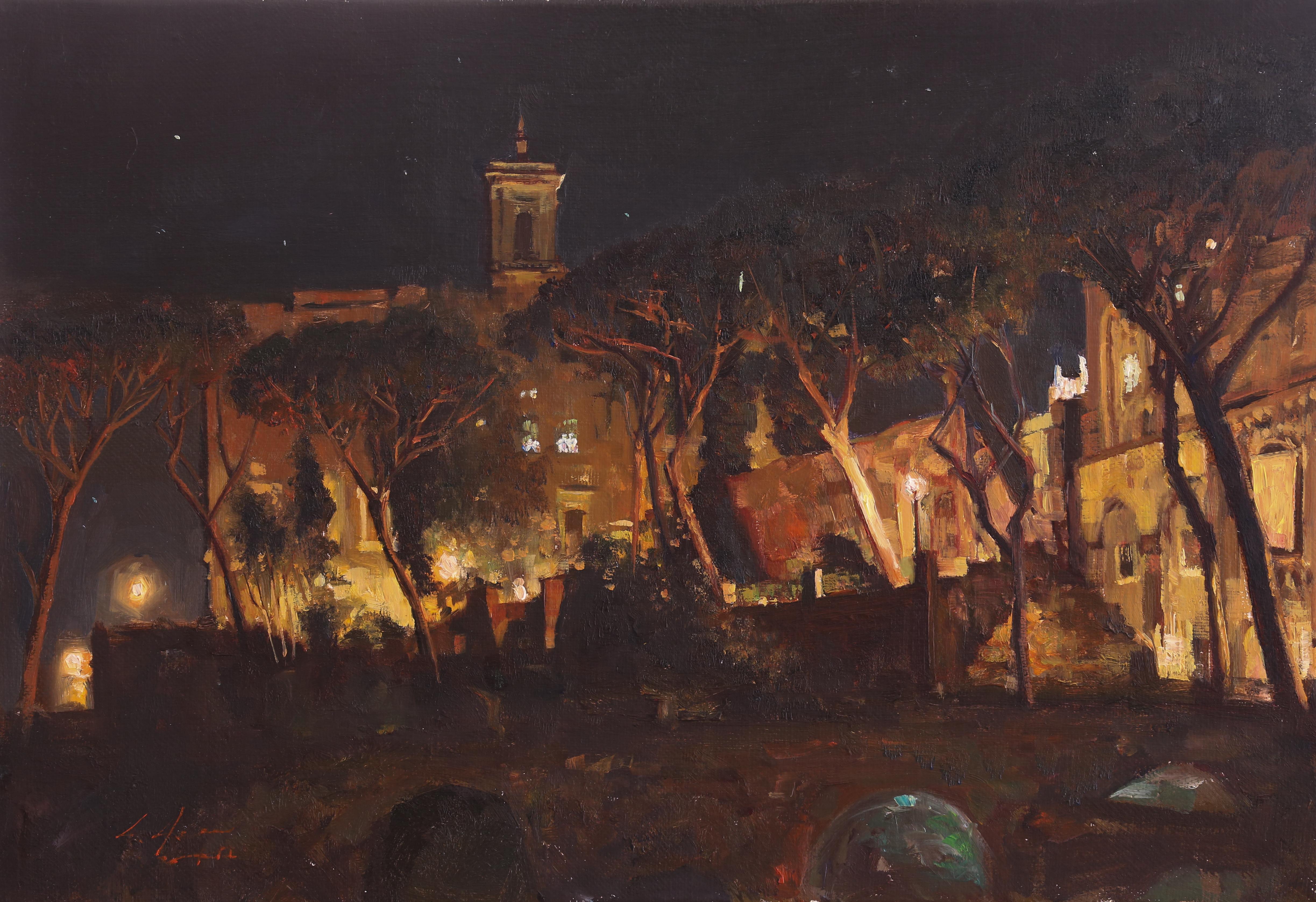 신화의 도시 40.8x28 Oil on canvas 2014