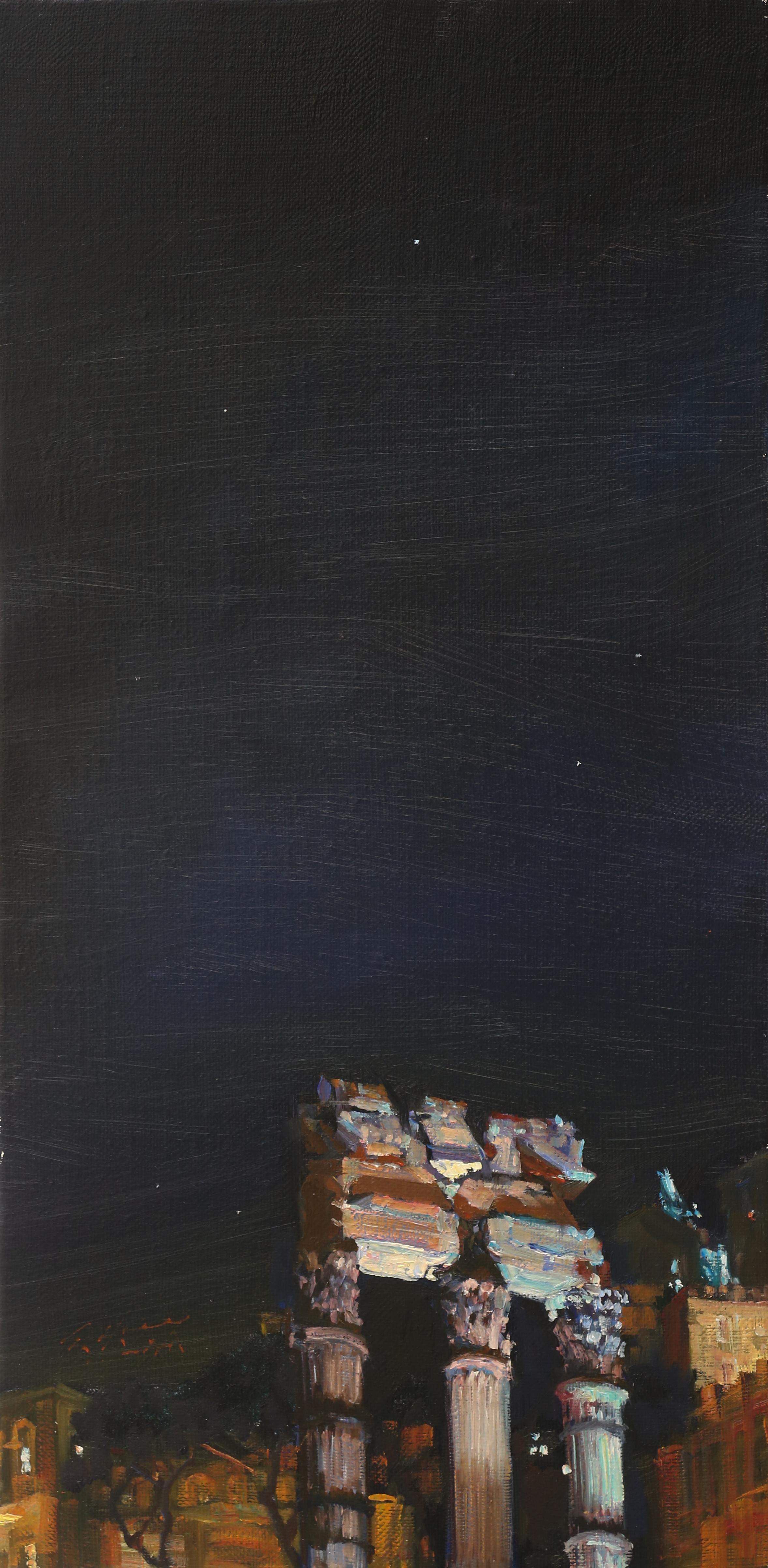 신화의 도시45.5x22.5 Oil on canvas 2014