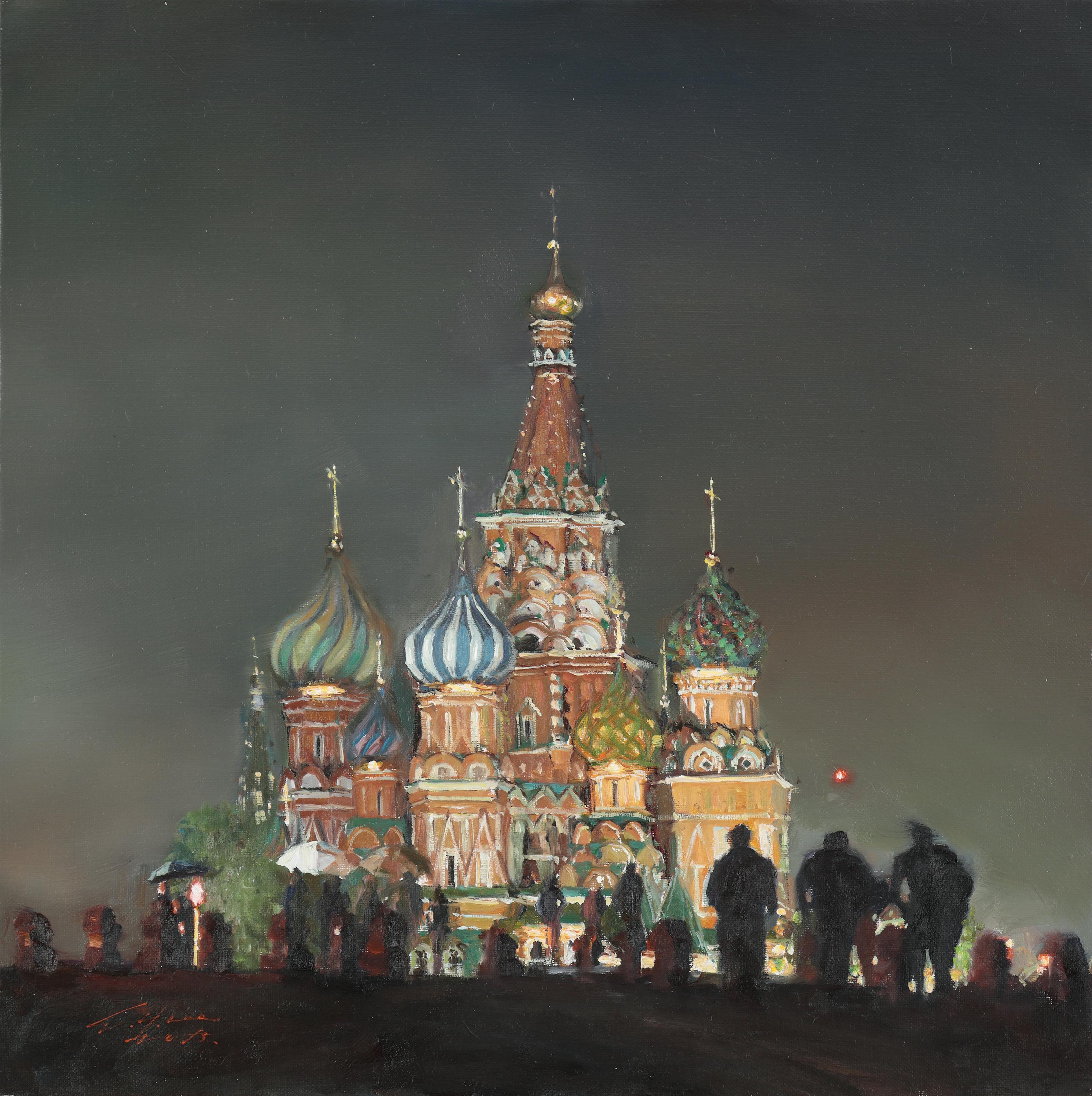 35 바실리의 야경 45.5x45.5 Oil on canvas 2015