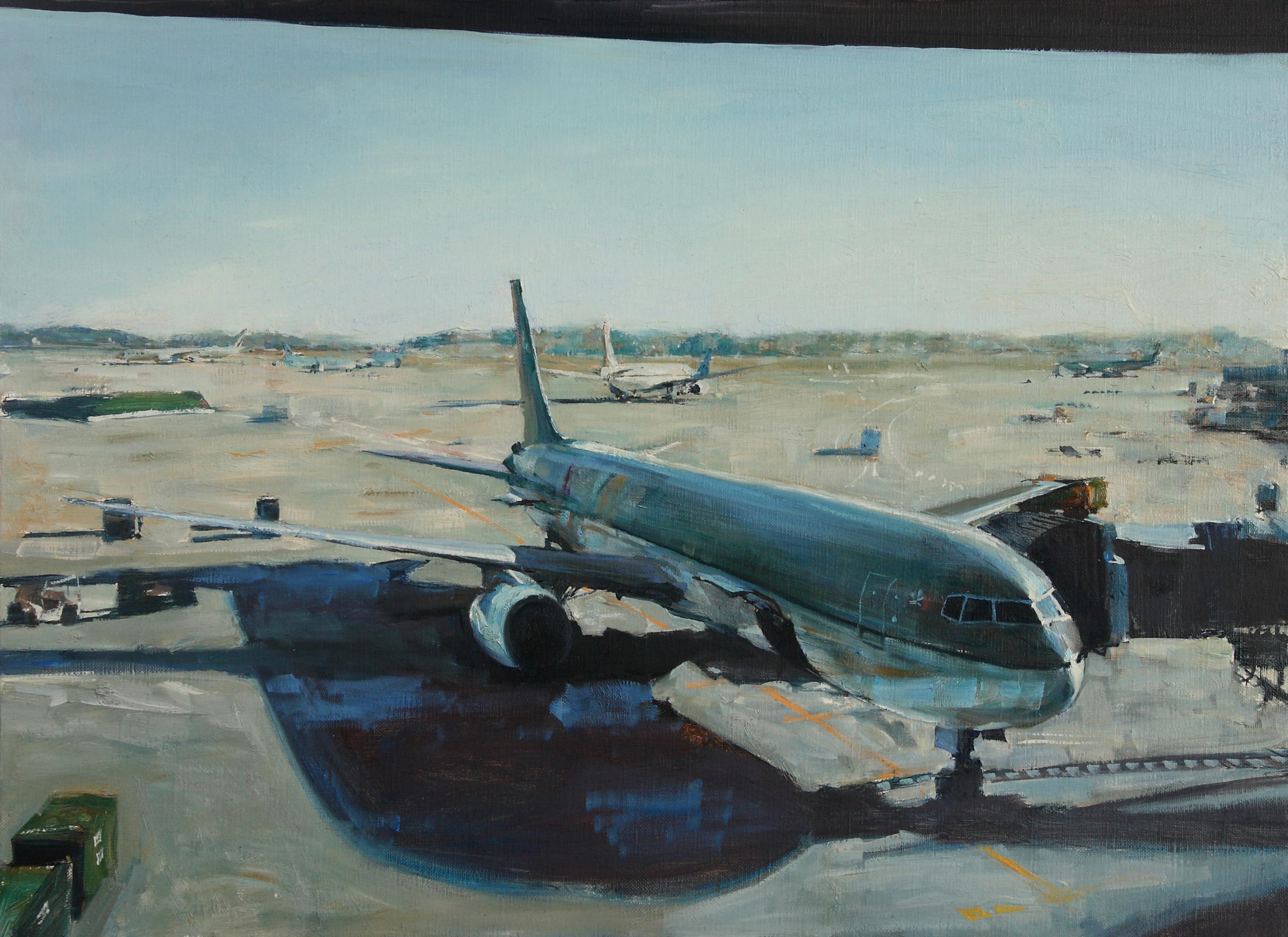 설레임 72.7x53  Oil on canvas 2009