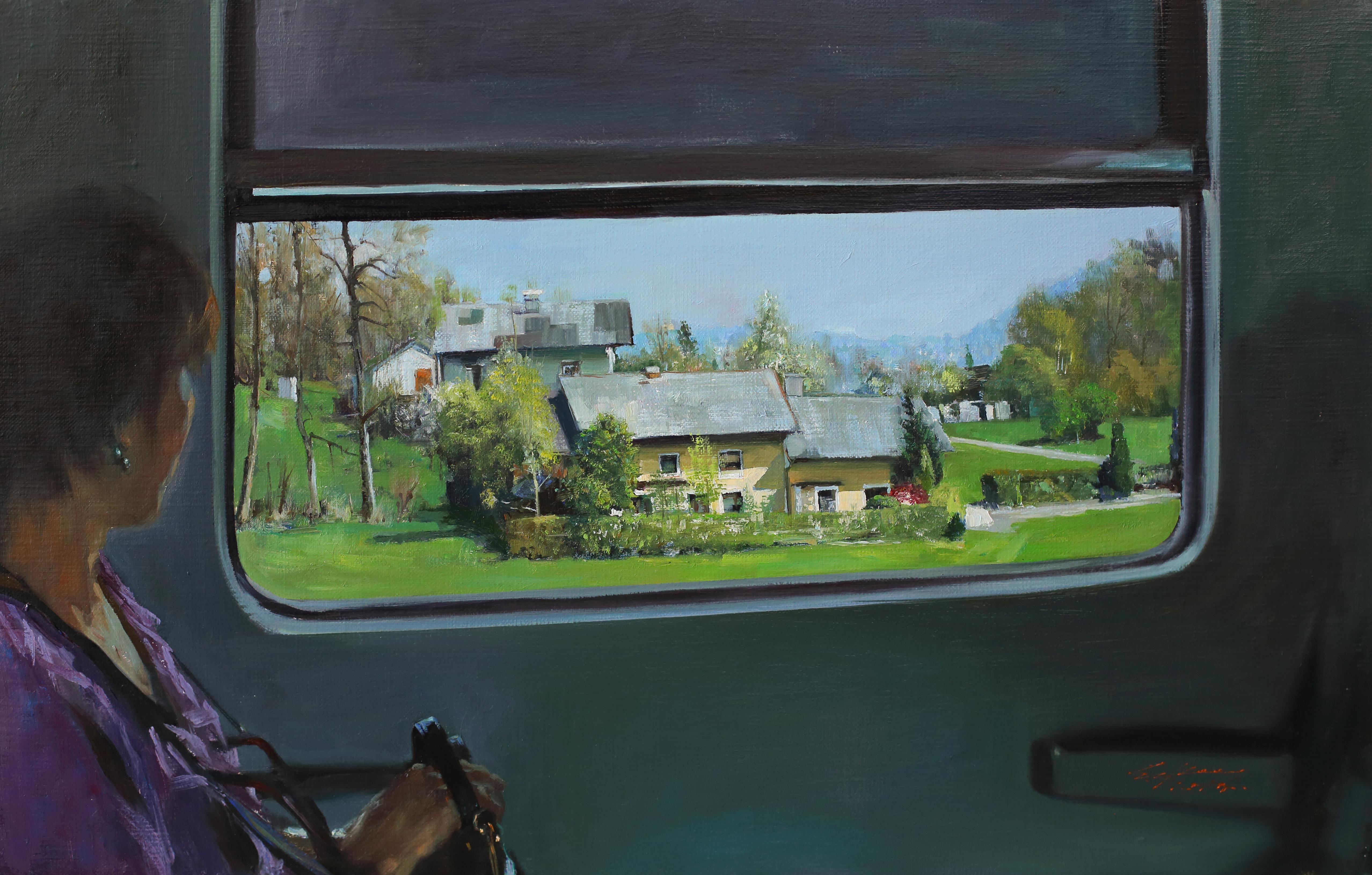 설레임65.1x41.5 Oil on canvas 2014