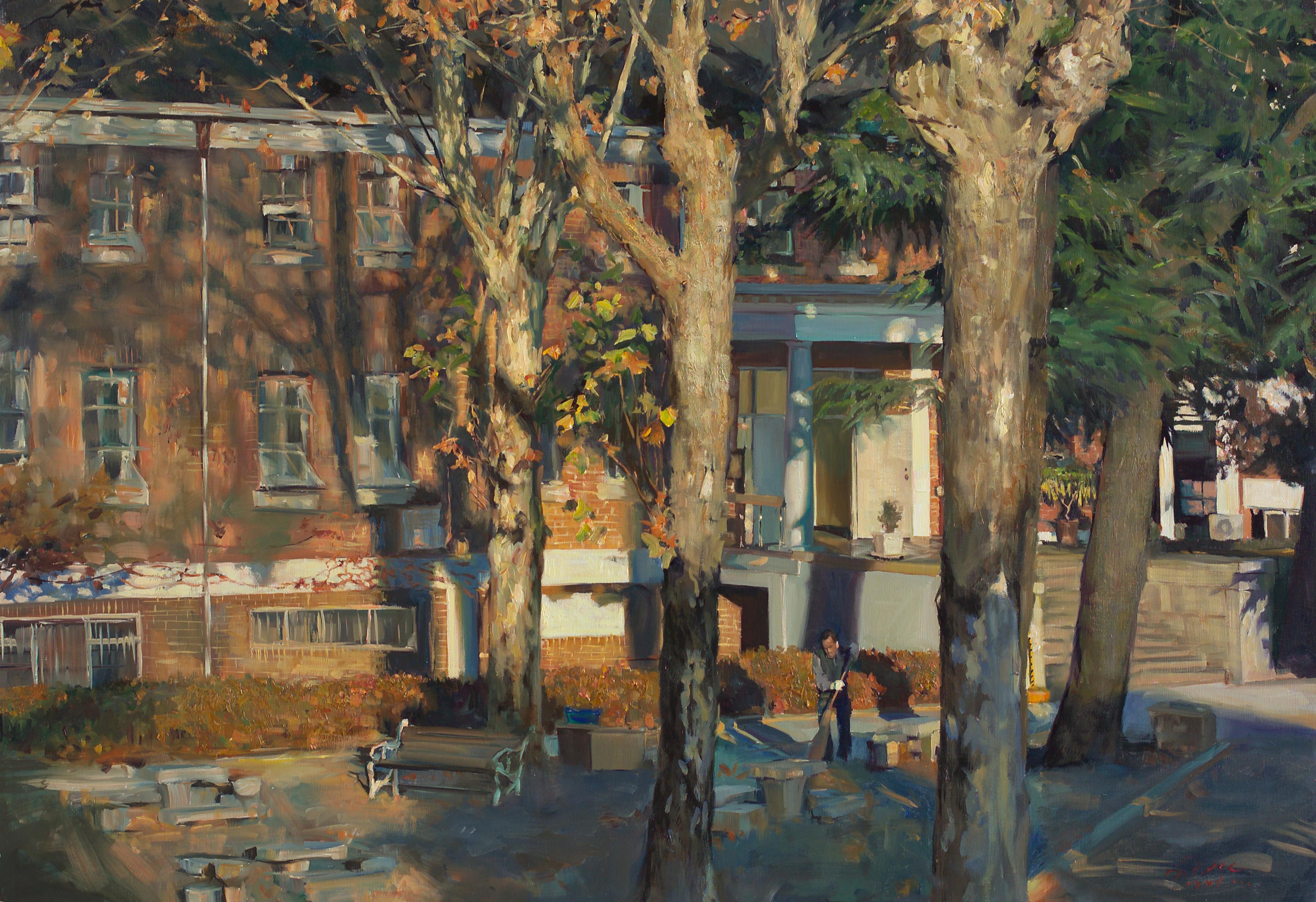 가을 116.8x91 Oil on canvas 2012