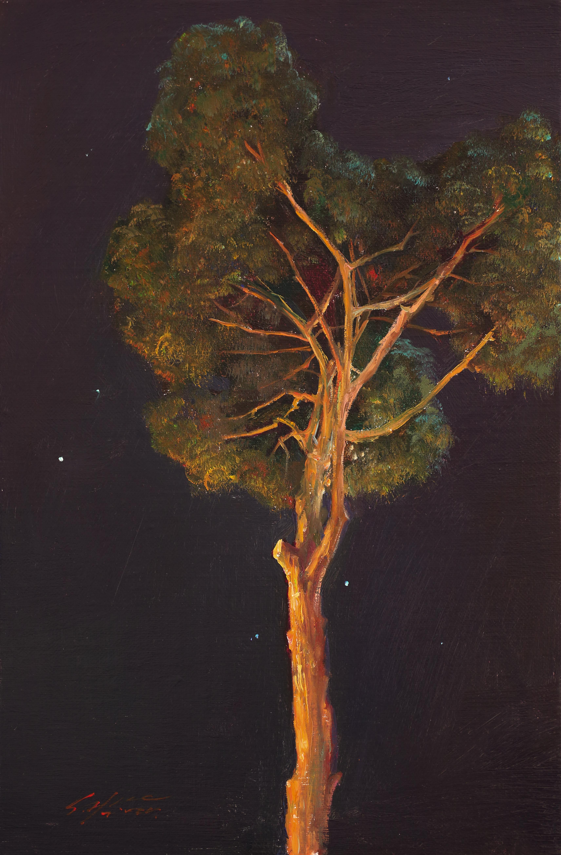 신화의 나무 34.8x22.8 Oil on canvas 2014