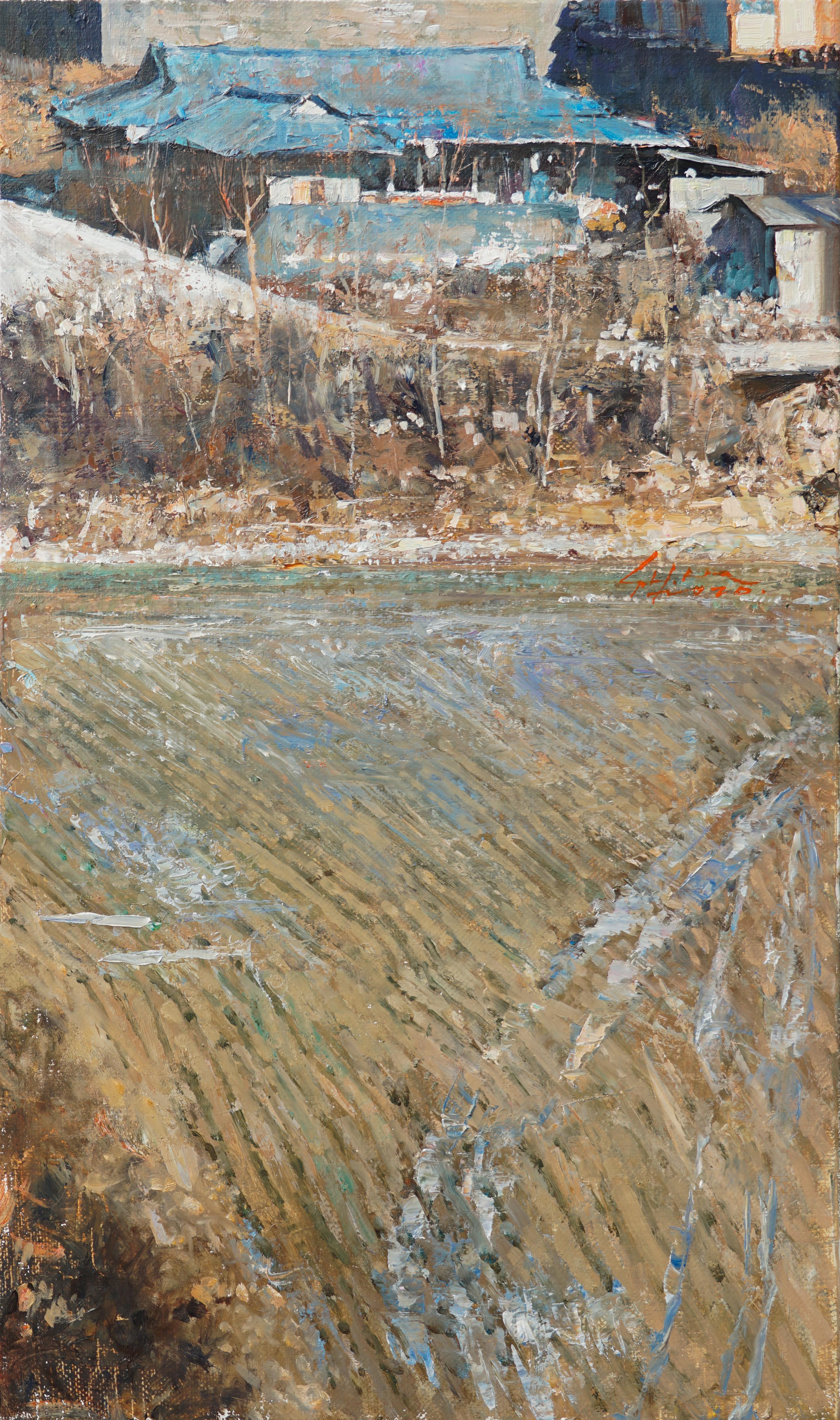 겨울내음 40.9x24.2 Oil on canvas 2020