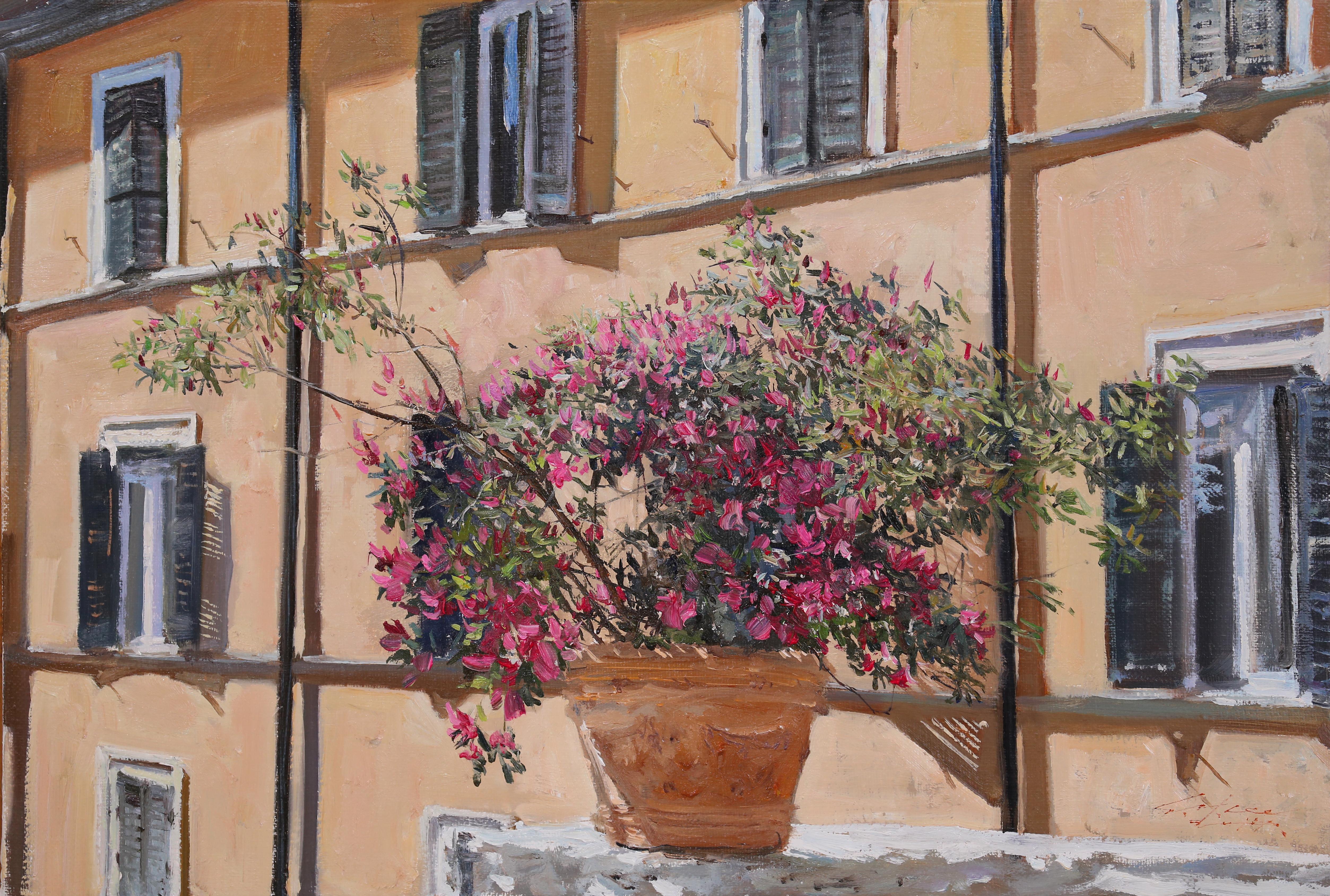 스페인 광장에서45.5x31 Oil on canvas 2014