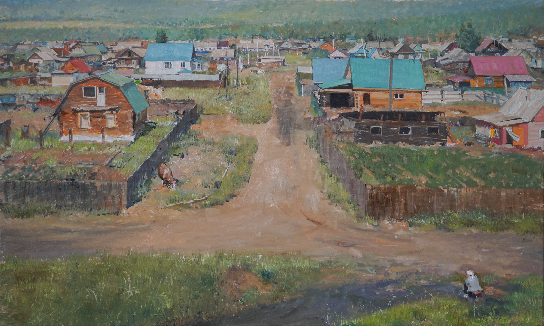 시골풍경 45.5x27.3 Oil on canvas 2019