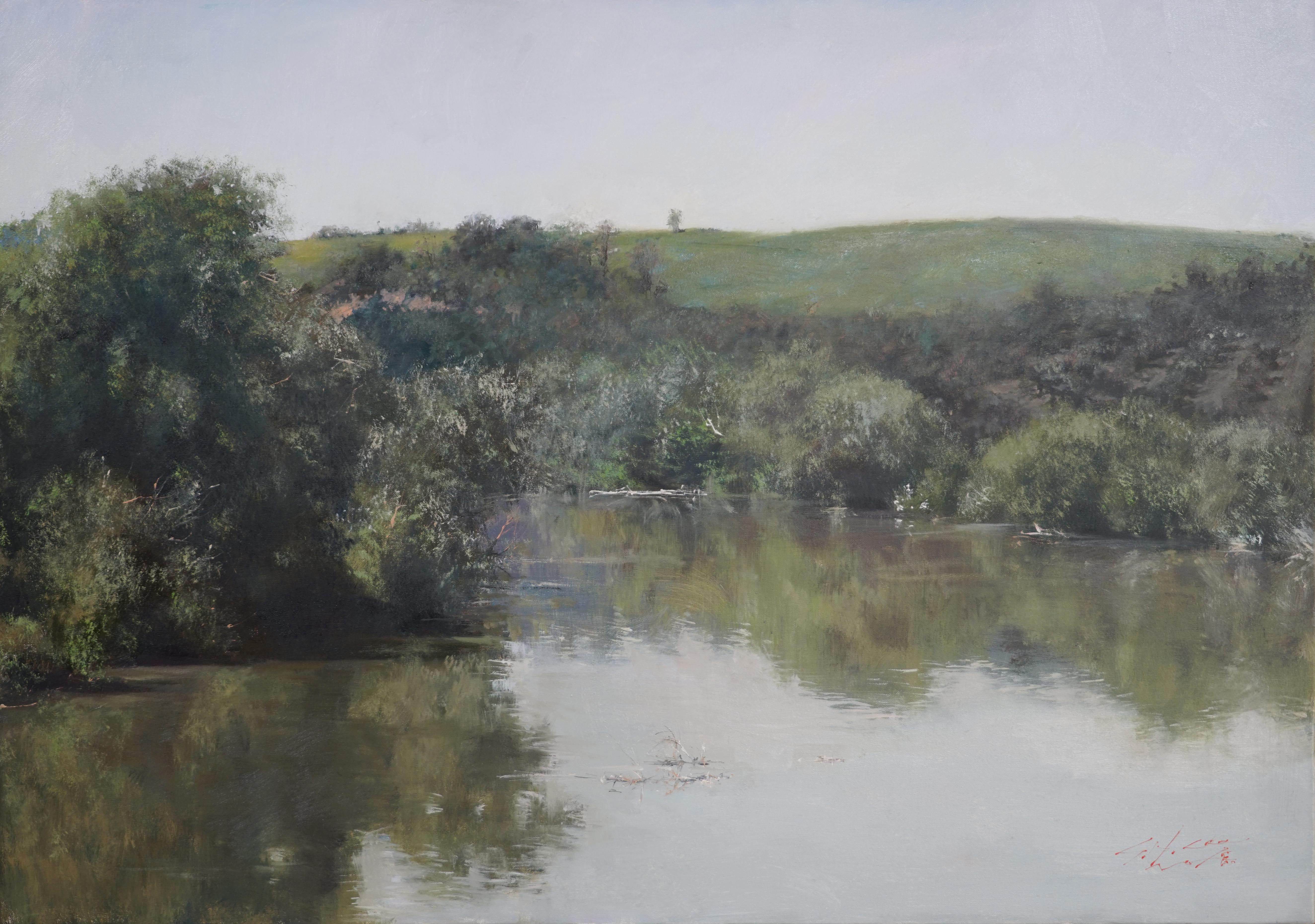 고요히 흐르는 강 61.2x43 Oil on canvas 2018