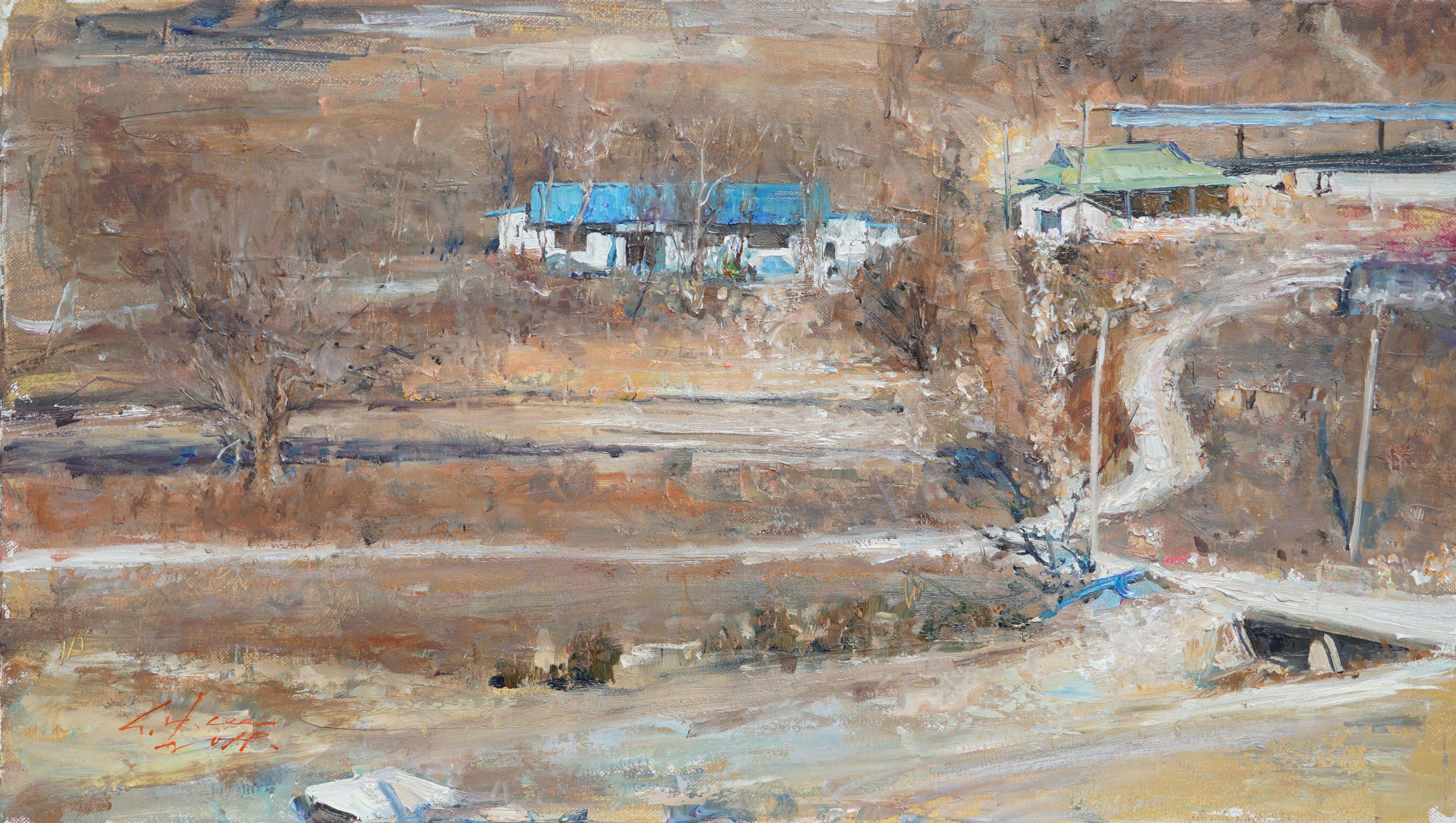시골인상 33.4x19 Oil on canvas 2019