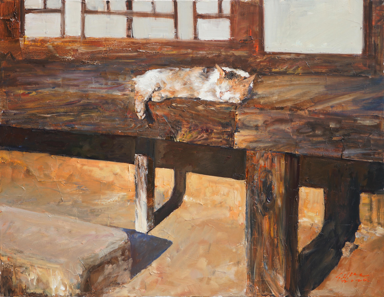 오수 53x40.9 Oil on canvas 2020