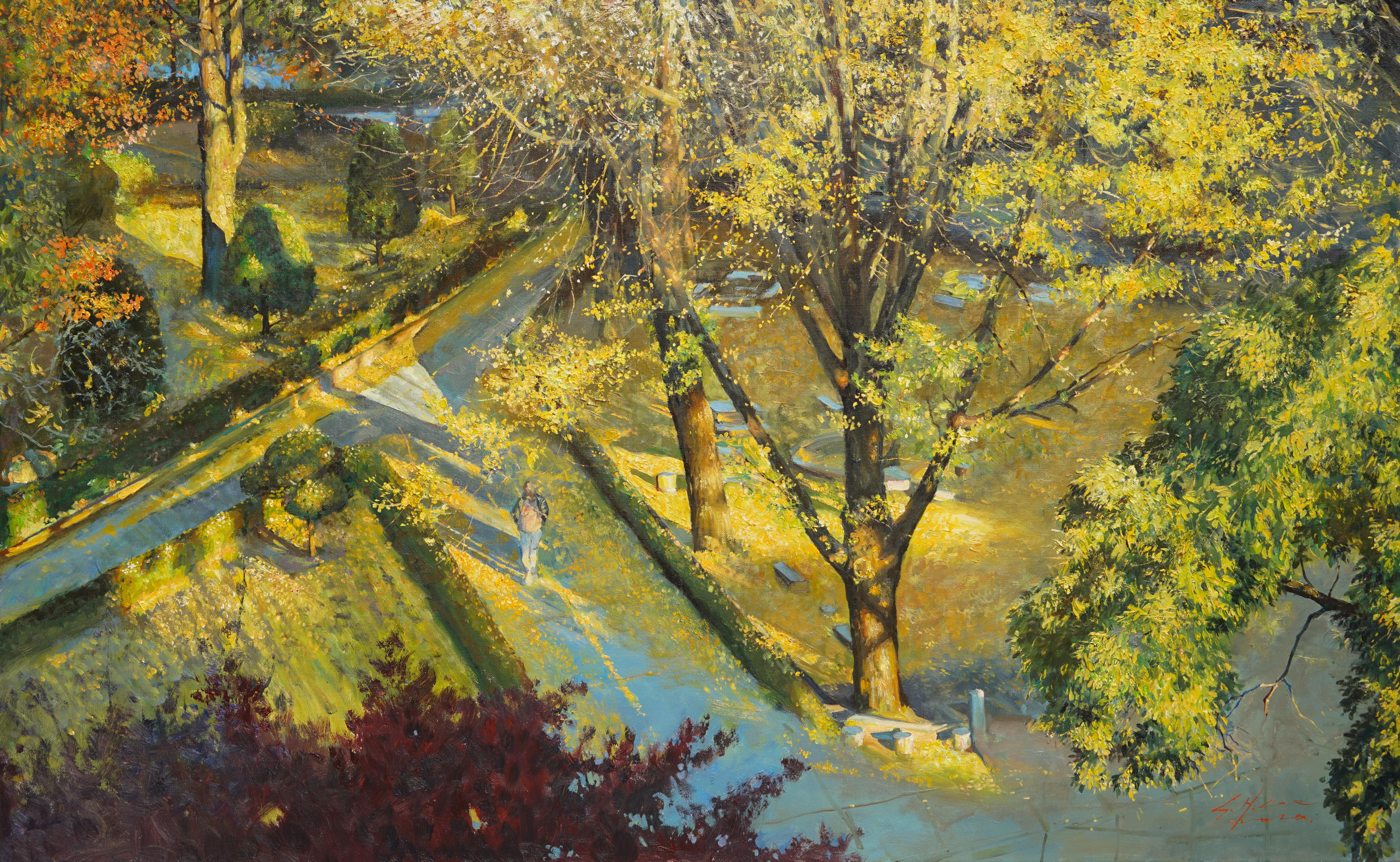 대명동의 가을 116.8x72.7 Oil on canvas 2020