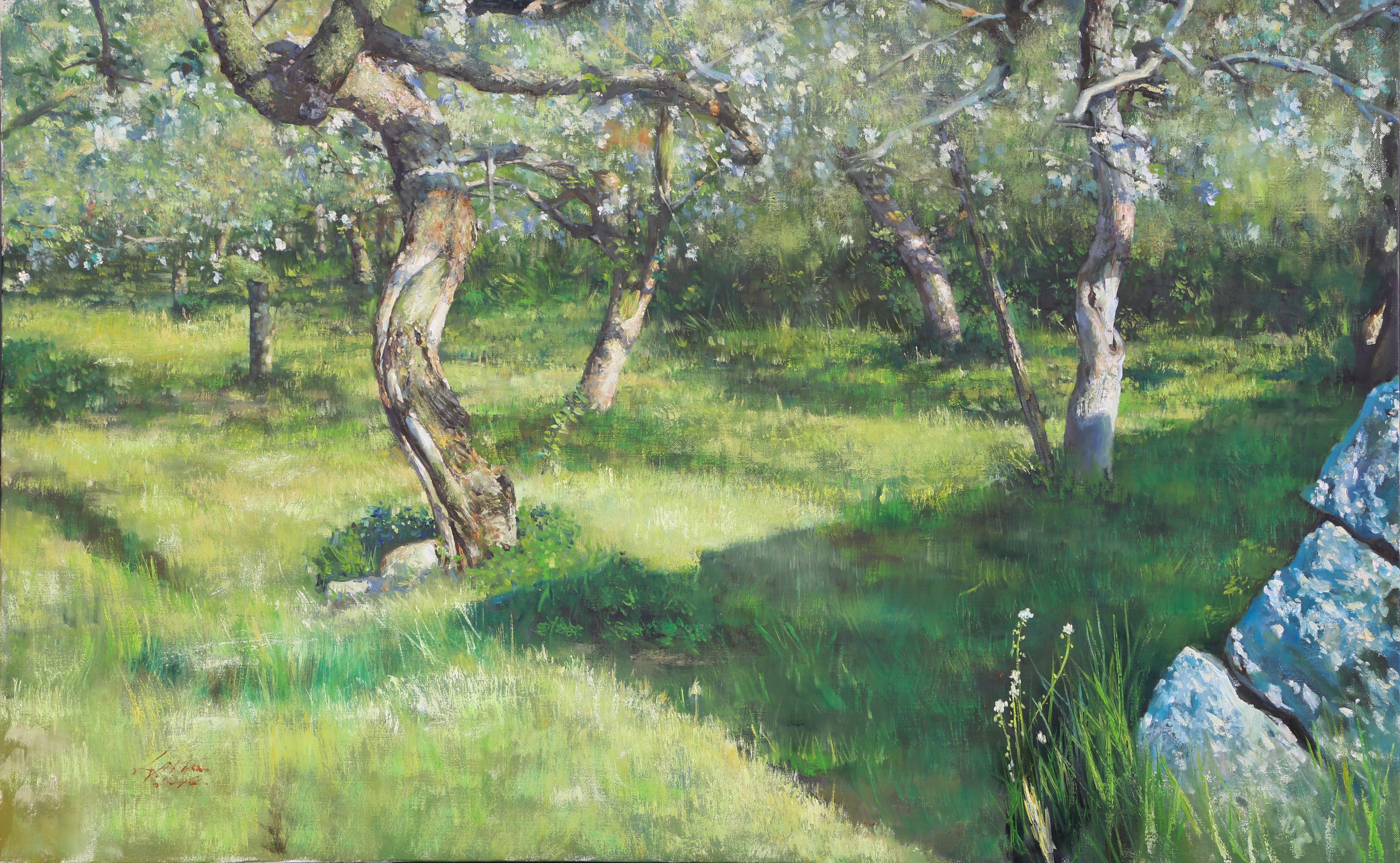 사과꽃 116.8x97 Oil on canvas 2016